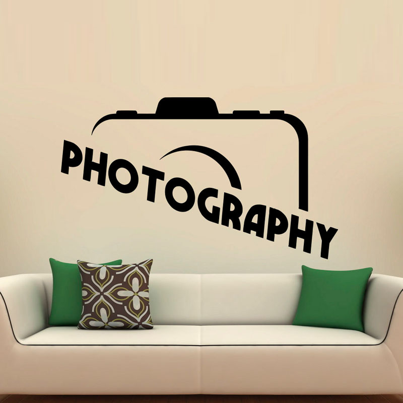 Popular Photography Wall Decal-Buy Cheap Photography Wall ...