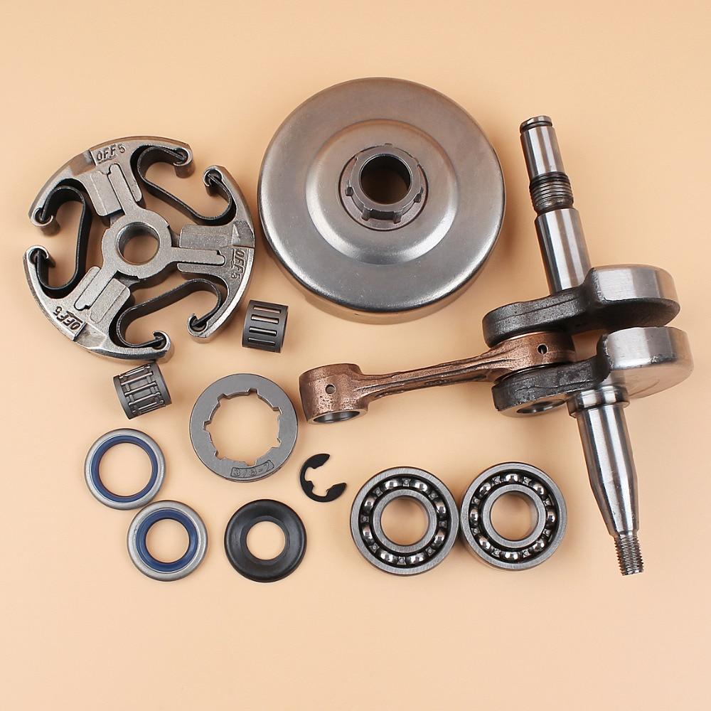 Crankshaft Bearing Oil Seal Clutch Drum Rim Sprocket Washer Kit For HUSQVARNA 365 371 372 372XP 362 Chainsaw Spares Parts