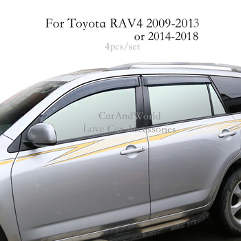 For Kia Sportage R 2012 2013 2014 2015 Window Visor Vent Shades Sun Rain Deflector Guard Awnings Car-Styling Accessories