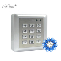 Good Quality Metal Case Face Waterproof RFID Card Access Controller With Keypad 2000 Users Door Access Control Reader