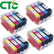 цены CTC 16 Pack 364XL Compatible Ink Cartridges Replacement for  364 xl for  Deskjet 3070A 5510 6510 B209a C510a C309a Printer
