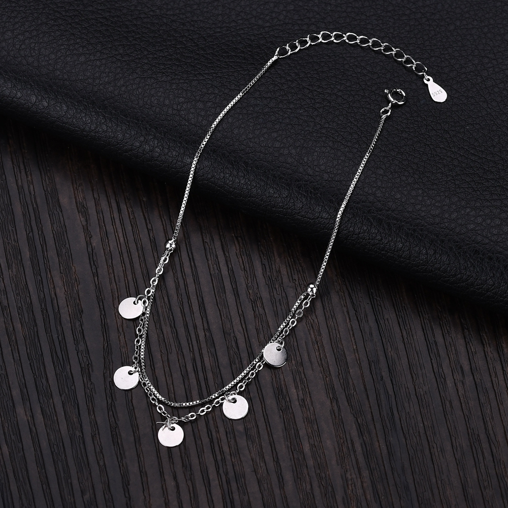 Sterling silver lady's anklet
