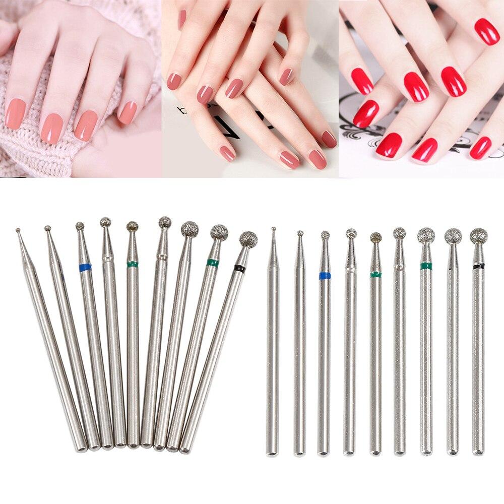 Elecool Pro Gel Nails Drill Bit Diamond Grinding Head Nail Frez