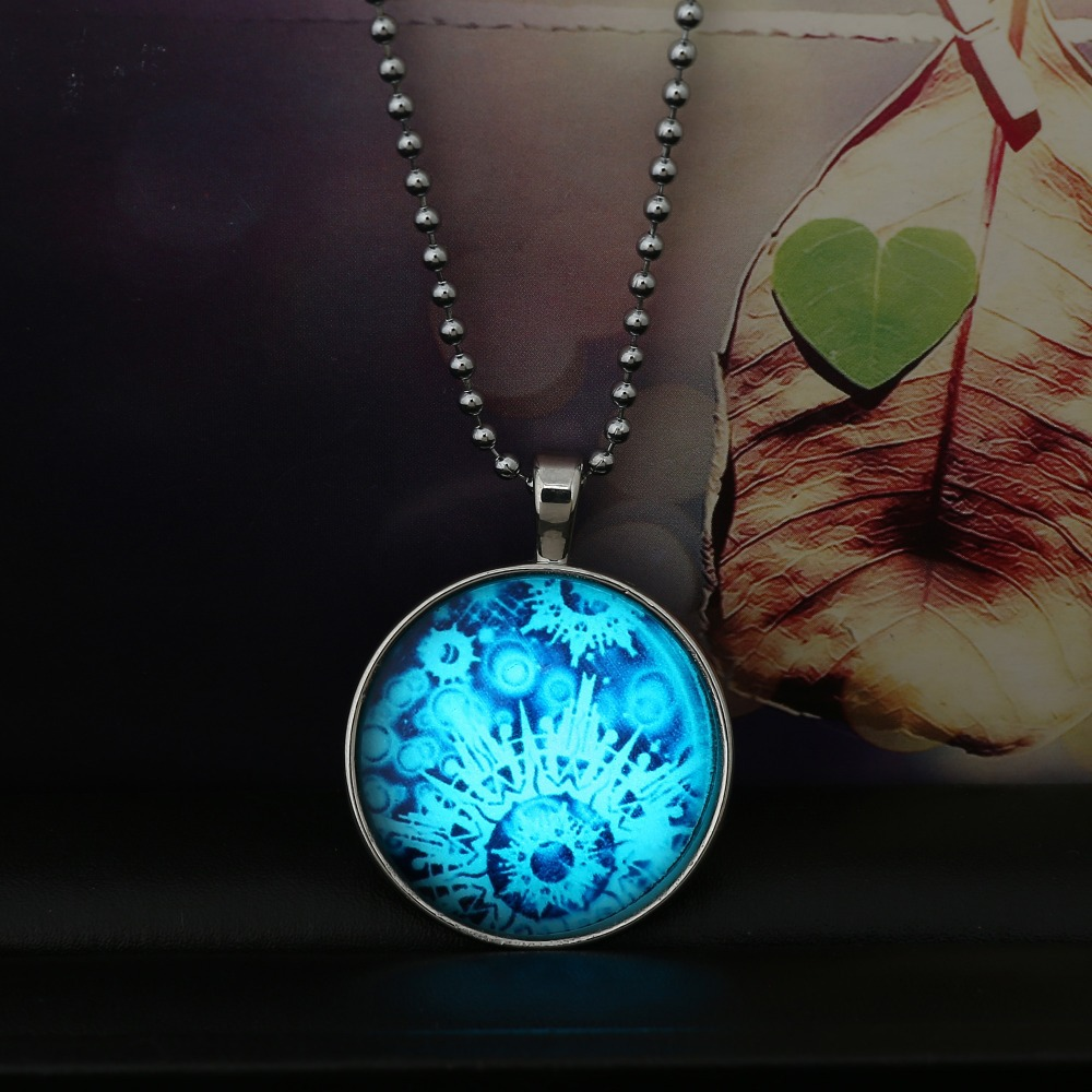 online get cheap glow stainless steel necklace -aliexpress