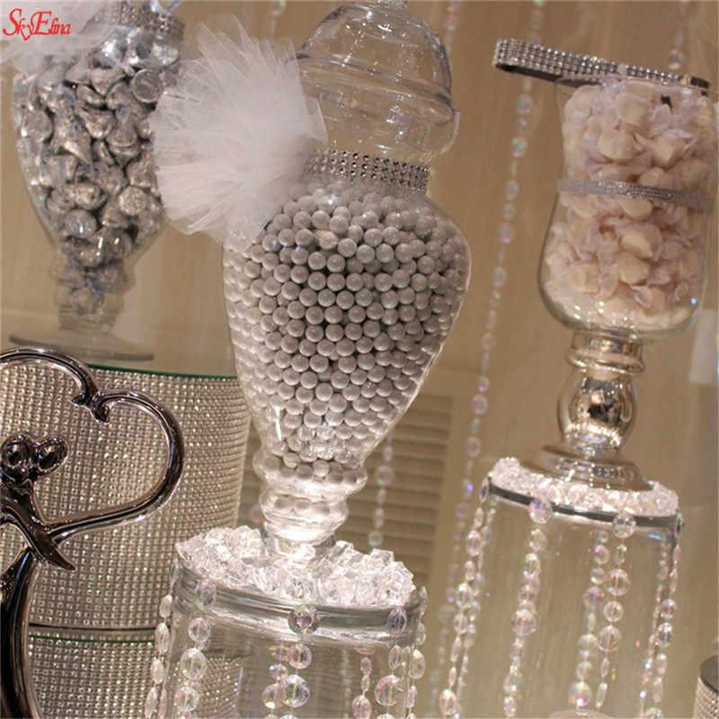 Brilhando 90cm bling diamante malha rolo de cristal fitas tule evento unicórnio festa aniversário diy decoração casamento 5z hh194