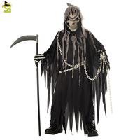 Boy S Halloween Mr Grim Costume Cosplay Adult Children Horror Death Devil Halloween Cosplay