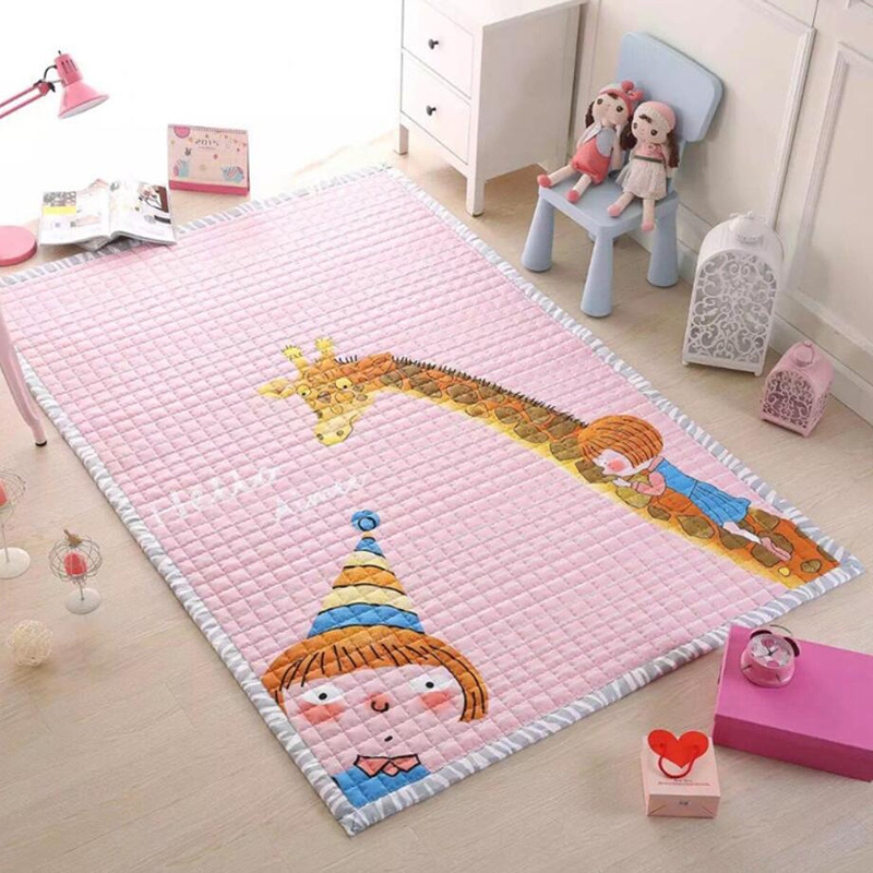 MoShuBe Baby Crawling Carpets Mats Gym Soft Floor Kids Toys