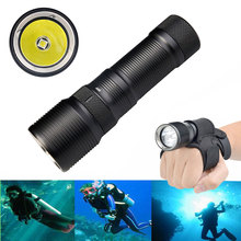 TrustFire DF008 Diving XM-L2 Waterproof 3 Mode Magnetic Control Switch LED Torch Flashlight trustfire tr j2 diving flashlight 1000 lm xml l2 4 mode led flashlight