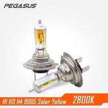 PEGASUS 2800K Car Halogen H1 H3 H4 H7 H11 HB3 9005 HB4 9006 PSX24W Headlight Auto Headlamp Bulb For Head light Fog Light