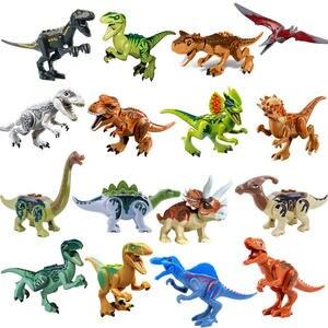 Bricks Toys Assembles Figure World-Building-Blocks Series Dinosaur Triceratops Jurassic