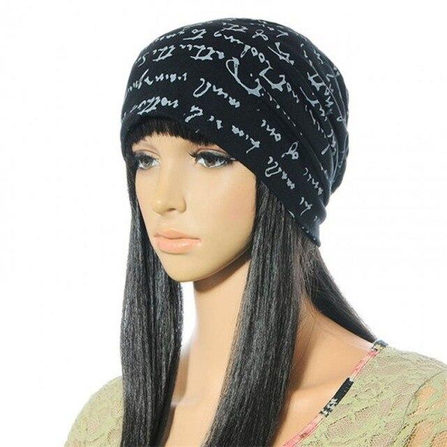 6 colors Summer Autumn Warm Unisex Cotton Knitted Hat Caps Letters Prints Beanie Skull Women's Hat Hip-Hop gorros bonnet femme