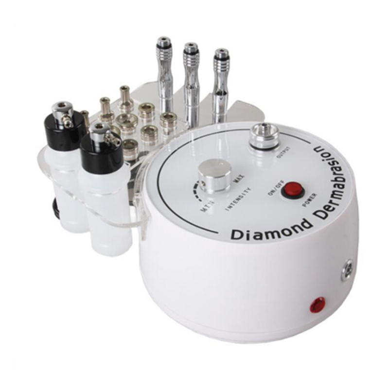 3 In 1 Diamond Microdermabrasion Peeling Vacuum Spray Skin Rejuvenation Facial Machine Pore Blackhead Removal Beauty Device