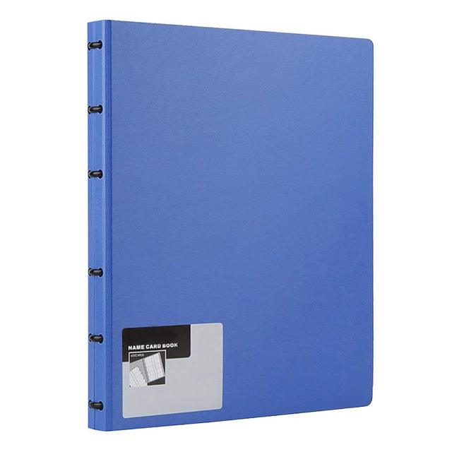 Business card book name card holder book with 600 business cards business card book name card holder book with 600 business cards capacity blue colourmoves