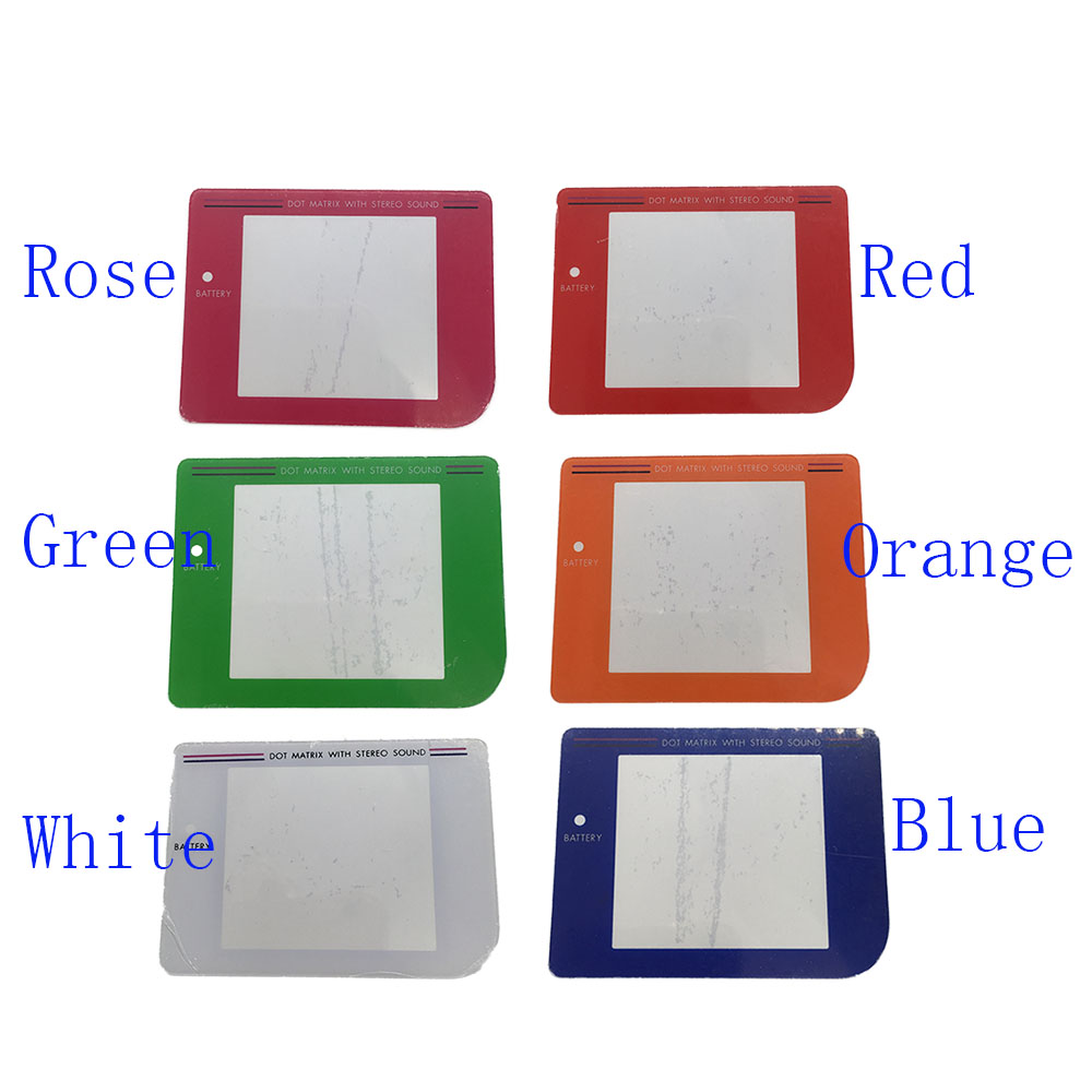 Game boy color online free - Colorful Replacement Screen Lens Cover For Original Nintendo Gameboy Game Boy Dmg