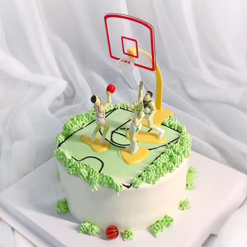 Details About Basketball Team Game Sport Cake Decoration Party Birthday DIY Kids Toys Hot Sale