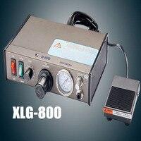 1 шт. автоматизированных Клей Диспенсер паяльной пасты жидкость полуавтоматический дозирующая контроллер Dropper XLG 800