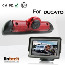 For Ducato Car Sony CCD Brake Light camera with 4.3 inch monitor