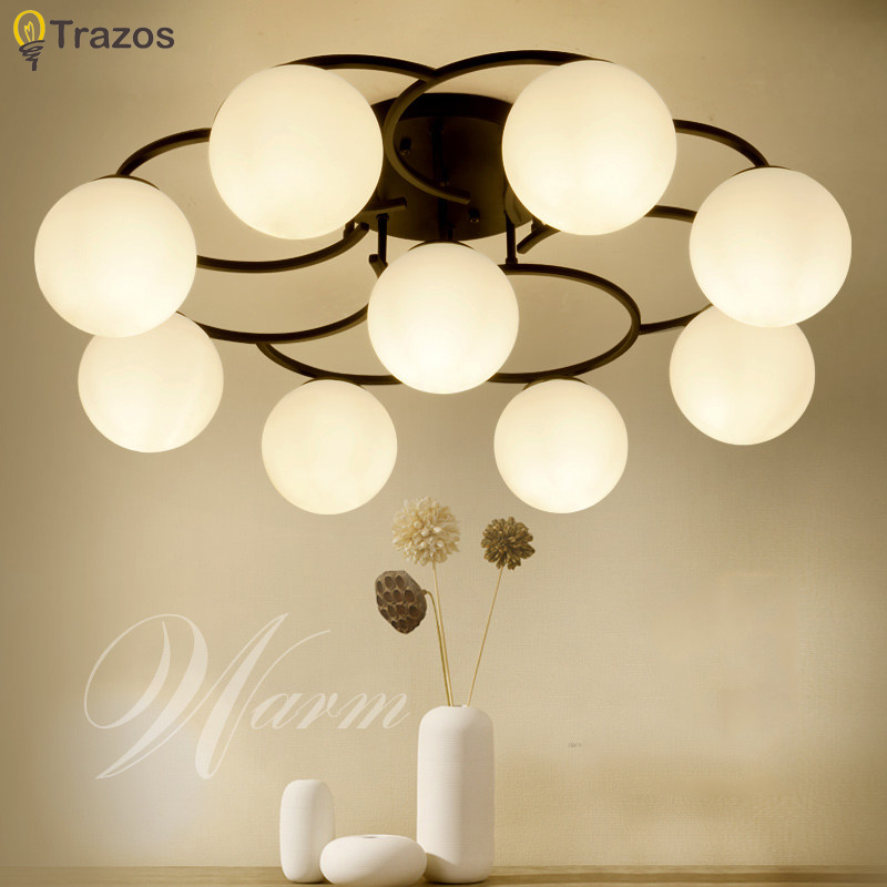 Retro ceiling light round LED ceiling lamp modern minimalist living room light dining room kitchen round