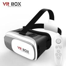 2016 NUEVO Google cartón CAJA 2.0 Versión VR VR Realidad Virtual Gafas 3D Para 3.5-6.0 pulgadas Smartphone + Bluetooth Controller1.0