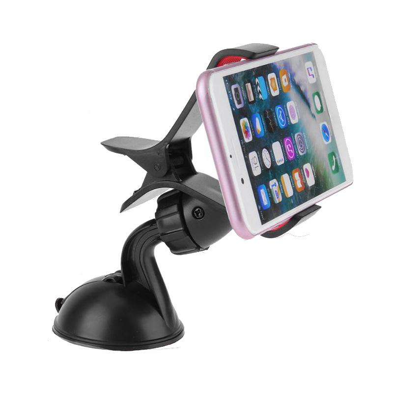 Cellphones & Telecommunications Brave 1pcs Universal Car Phone Holder 360 Degree Flexible Dashboard Windshield Gps Mount Desk Table Cell Mobile Phone Holder Stand