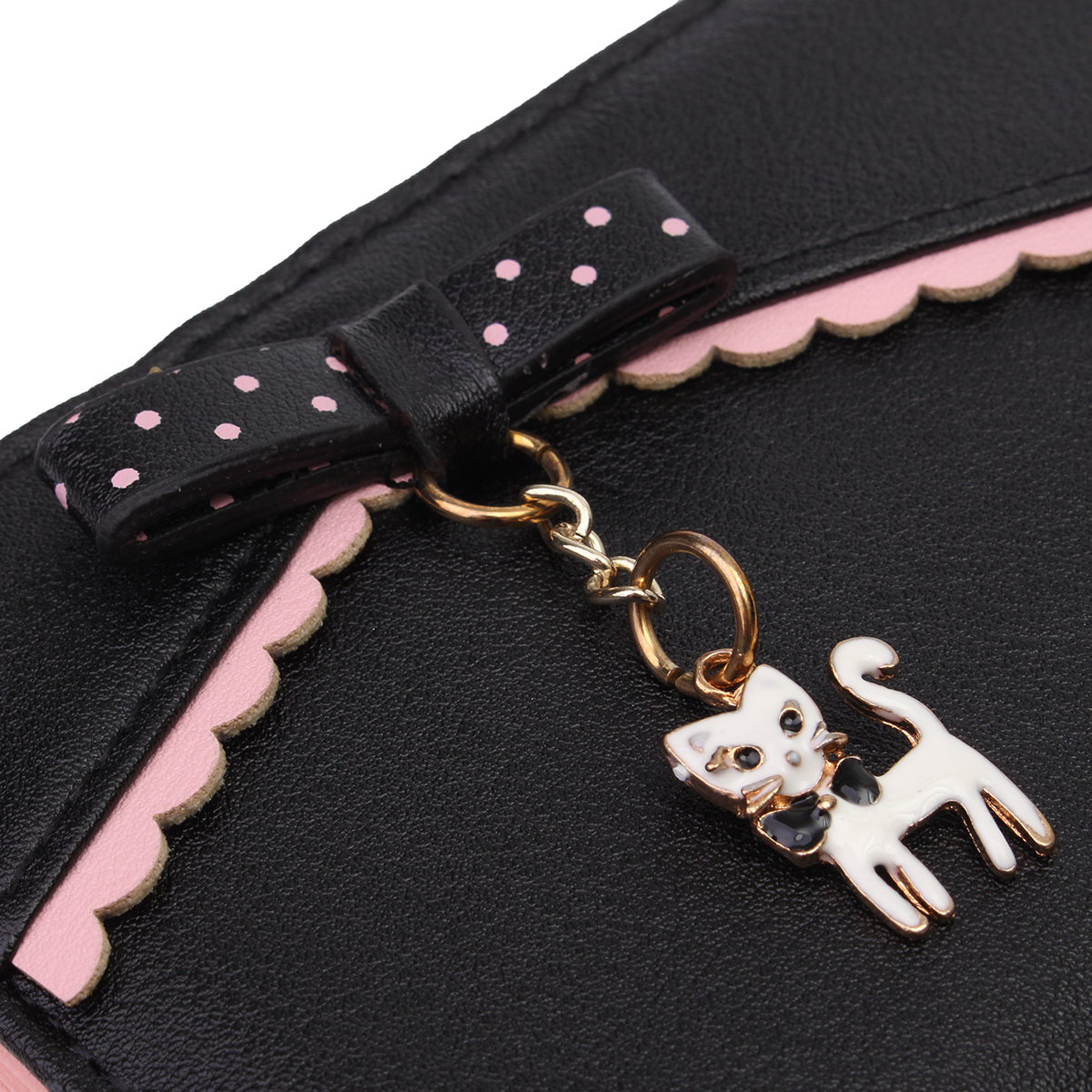 carteira da forma das senhoras Wallet Estilo 1 : Women Wallet Cute Cat