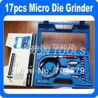 10 Set Lot NEW 17pcs 1 8 Micro Die Grinder Air Pencil Die Grinder Tool Pneumatic