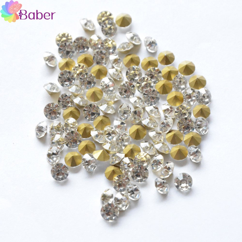 100pcs Nail Jewelry Decorations Accessories Rhinestones For Nails ...