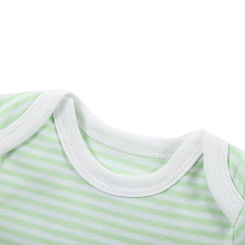 3 Pieceslot Baby Fashion Striped Short Sleeve Rompers Children Jumpsuit Newborn Boys Girls Clothes Body Roupa de bebe Overalls (67)