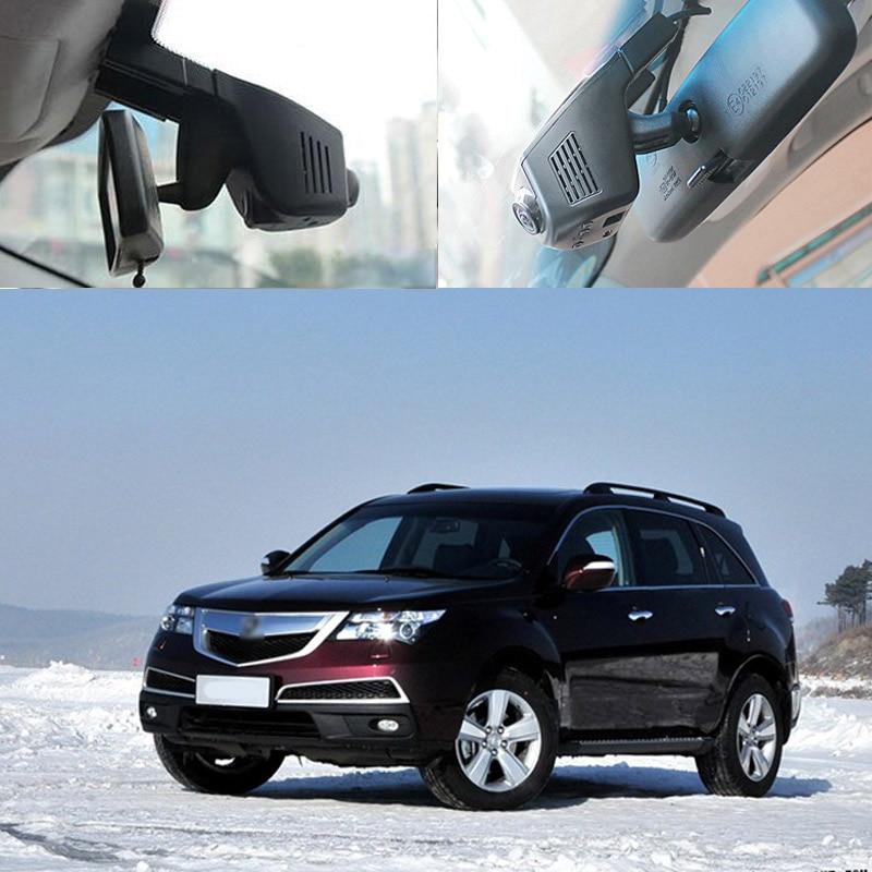 BigBigRoad For Acura MDX CDX ZDX RDX ILX Car Wifi DVR FHD