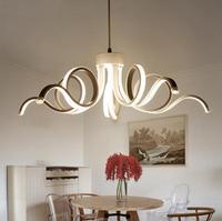 Restoran avizeler LED yaratıcı kişilik yemek odası basit modern kahve odası ışıkları oturma odası dekorasyon tasarım lambalar