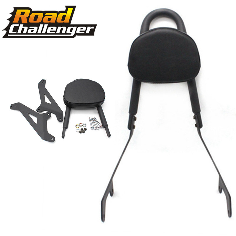 For Yamaha Star XVS950 Bolt XV950 2014 2015 2016 2017 Back Cushion Black Lazyback Seat Rear Passenger Backrest