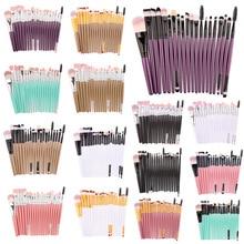 VERONNI 20Pcs Makeup Brushes Set Eye Shadow Foundation Powder Eyeliner Eyelash Cosmetic Beauty Make Up Brush professional Tool