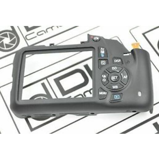 Nouveau 1200D rebelle T5 X70 couverture arrière coque arrière avec bouton Flex avec clé LCD FPC pour Canon 1200D