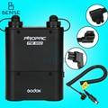Kit godox pb960 preto flash power pack de bateria 4500 mah para nikon canon yongnuo flash speedlite godox sony