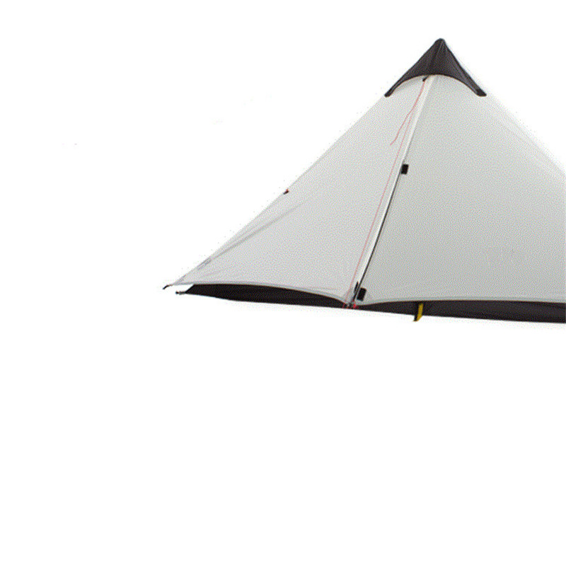 New Arrival Double Ultra Light 15D Silicone Without Pole Tent  Rain-Proof Wind Resistance Tent Outdoor Camping Hiking Tent outdoor double layer 10 14 persons camping holiday arbor tent sun canopy canopy tent