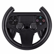 5pcs Steering Racing Wheel For Sony Play station 4 for PS4 Joypad Grip Controller Black