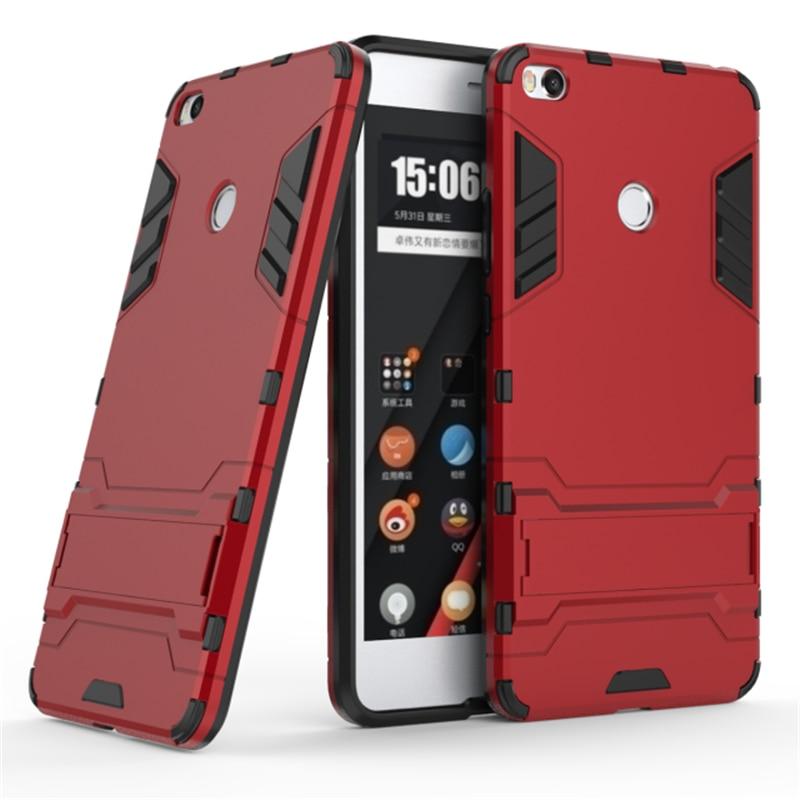 the latest 57094 1d84e Xiaomi MiMax 2 Armor Case 360 Cover Funda Xiaomi Mi Max 2 Case ...