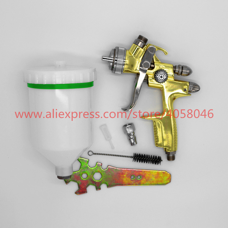 Professional Spray Gun 1 3mm Y0001 spray gun Gravity Feed Air Paint Spray Gun Set with