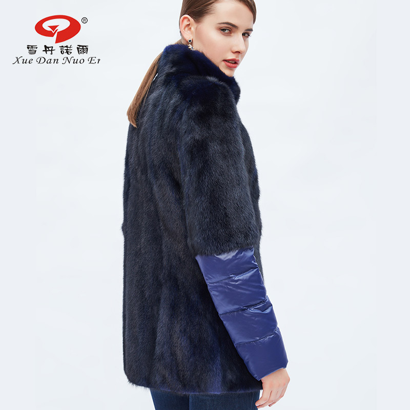 2017 New arrival full pelt fur coat real mink fur coats for women ...