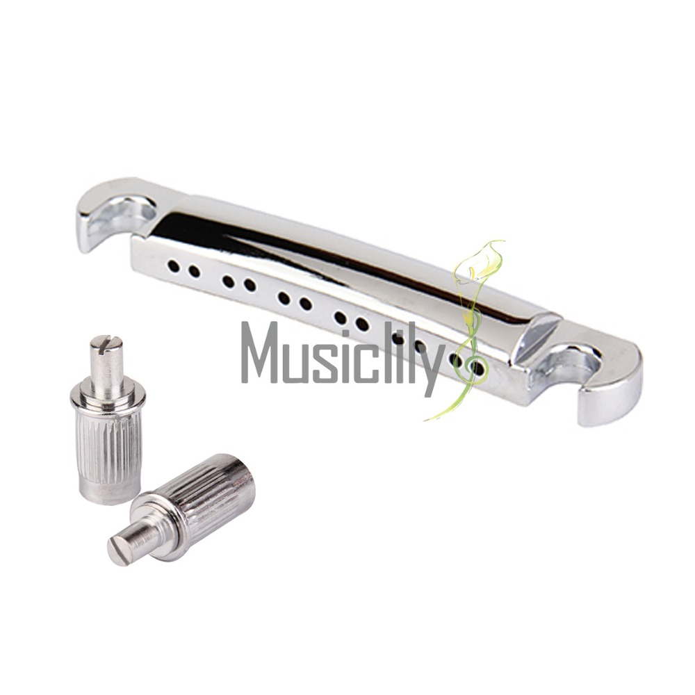 Musiclily Multiple Color 12 String Guitar ABR-1 Style Tune-o-Matic Tailpiece for Gibson LP Les Paul Gear Guitar Replacement