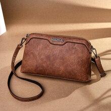 Retro Female Small Bag Stitching Casual Woman Shoulder Bag Wild Lady Crossbody Bag Long Shoulder Strap