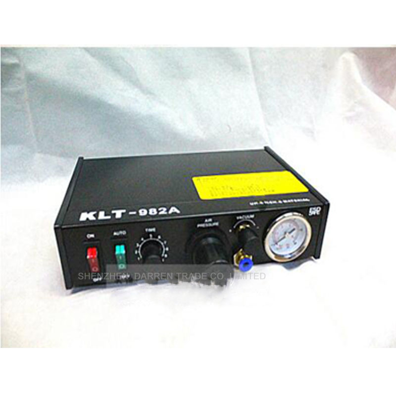 110v220V Automatic Glue Dispenser Solder Paste Liquid Regolatore Semi Macchina Automatica di Erogazione Dropper KLT-982A
