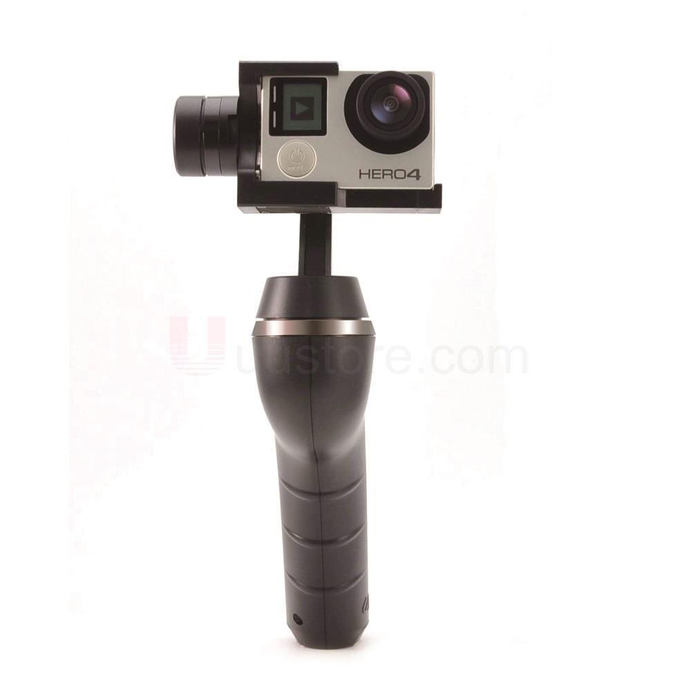 Unitech UniGo Ultra Steady 3-Axis 360 Rotation Handheld Brushless Camera Gimbal Comfort Grip Camera Stabilizer nebula 5100 3 axis handheld 360 degree unlimited rotation camera gimbal built in encoder