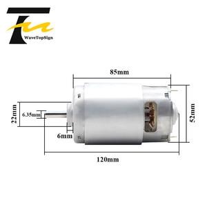 Image 5 - 997 강력한 DC 모터 입력 전압 DC12 36V 고속 모터 자동 볼 베어링 모터