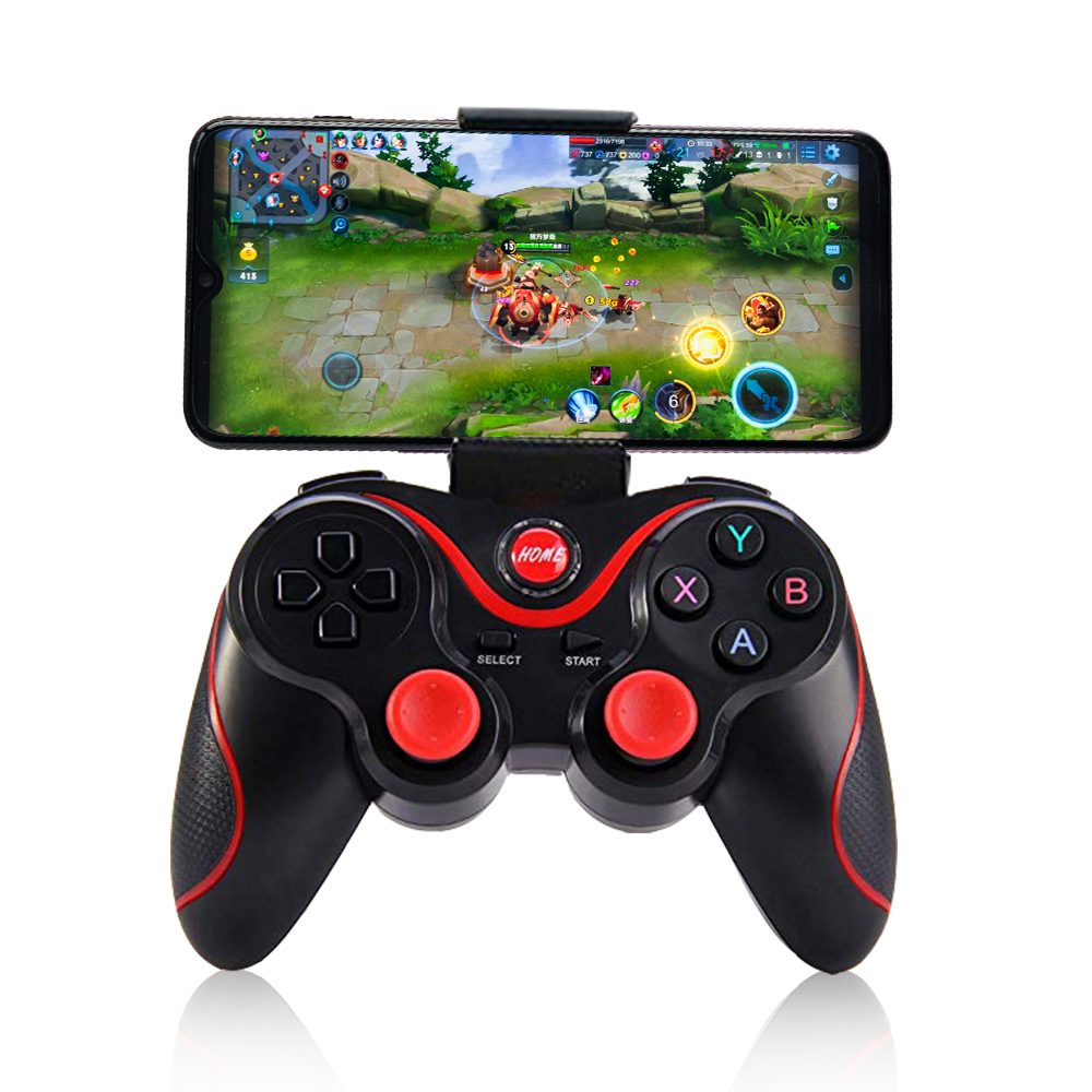 Pubg Controller T3 Bluetooth Wireless Joystick Gamepad Game Controller Bluetooth Joystick For Mobile Phone Tablet Tv Box Holder Gamepads Aliexpress