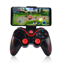 pubg controller T3 Bluetooth Wireless Joystick Gamepad Game Controller For Mobile Phone Tablet TV Box Holder
