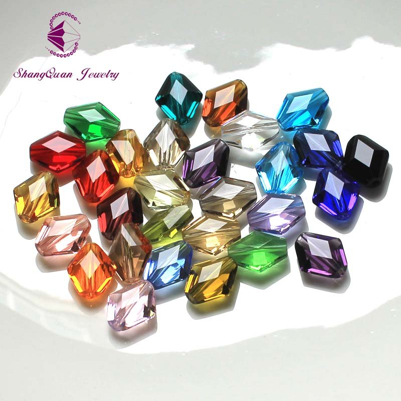 Crystal 50 x Transparent Star Shape 13mm Emerald Ruby Top Quality Pony Beads