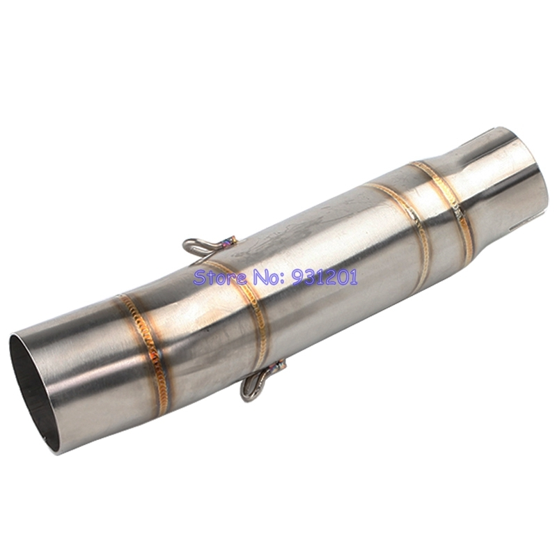 Connect Link Pipe Mufflers-Escape Stainless-Steel Motorcycle 51mm Exhaust CBR300R Honda