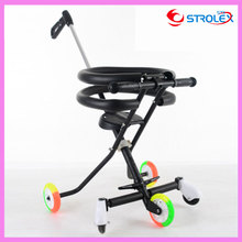 Quality Portable Folding Baby Tricycle Bike Travel Trolley Sunshade Umbrella Tricycle Stroller Lightweight 3 In 1 Pram Pushchair