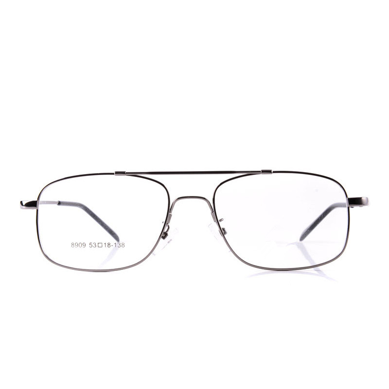 2016 Erkekler Stil Bellek Titanyum Alaşımlı Tam Jant Gözlük Moda - Elbise aksesuarları - Fotoğraf 2